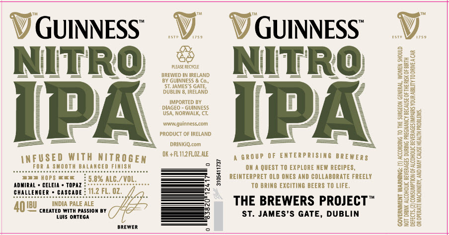 Guinness Nitro IPA bar.it