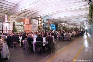 Il magazzino centrale dell'azienda San Geminiano