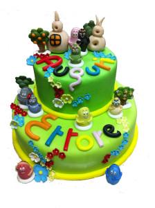 Una torta di compleanno davvero speciale
