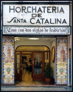 Una famosa Horchateria a Valencia