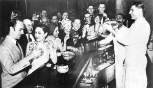 Durante il Proibizionismo molti locali servivano alcolici illegalmente