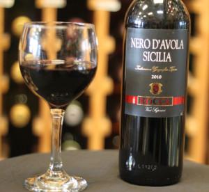 Il Nero dAvola, vino rosso siciliano pregiatissimo
