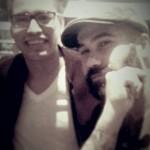 César insieme a Diego Ferrari