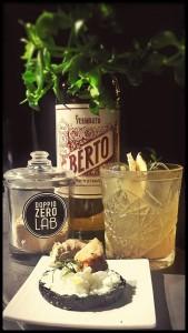 Il Martini Mule nell'abbinamento che troverete al Doppio Zero Lab