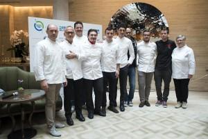 Alcuni dei grandi chef aderenti all'iniziativa