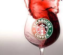 Il vino ormai viene venduto anche da Starbucks