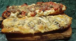 La baguette francese può essere usata in mille modi durante laperitivo