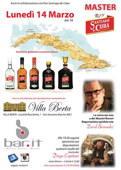 locandina villaberta rum santiago