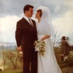 il giorno delle nozze dei coniugi Manzi