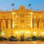 Il Grand Hotel di Cesenatico sede della serata.