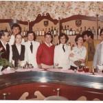 Lo staff del Cluny American bar