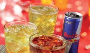 La Red Bull è regina nel mercato degli Energy Drinks, che è in crescita nelle ore serali