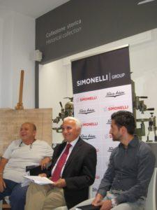 Nando Ottavi, con Piergiorgio Cannara e Tommaso Bresciani