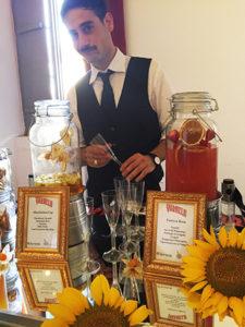Alessio Ancillani il bartender di bar.it che presenzierà all'evento con le sue elaborazioni dei prodotti Varnelli.