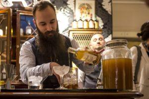 Un palcoscenico d'eccezione anche per tanti grandi bartender