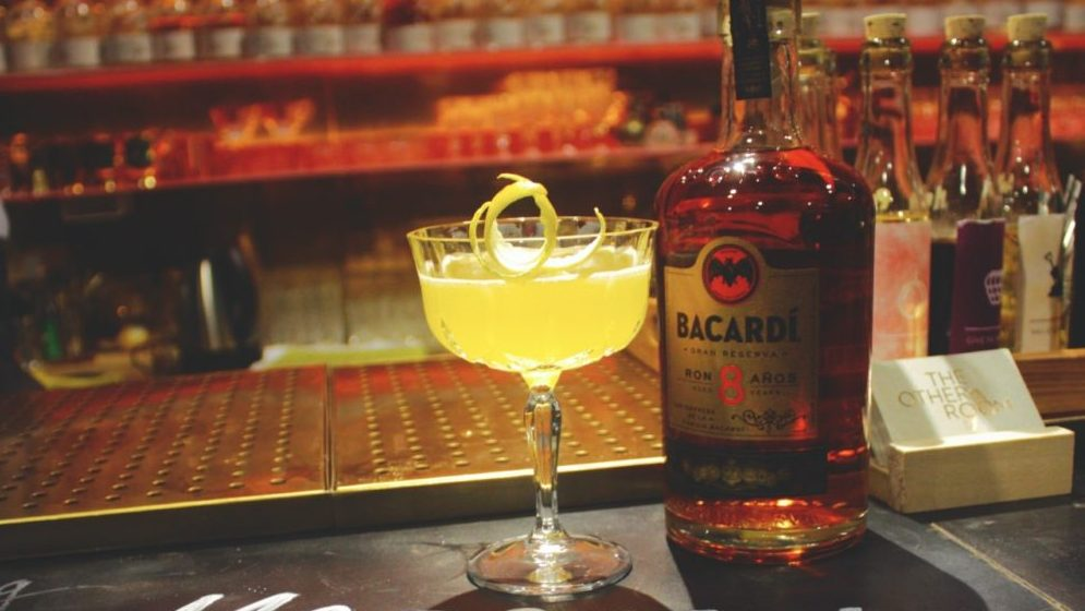 cocktail bacardi
