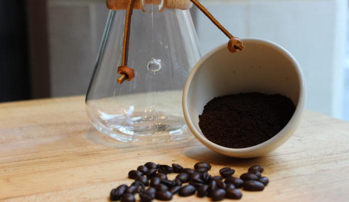 caffè filtro con metodo Chemex