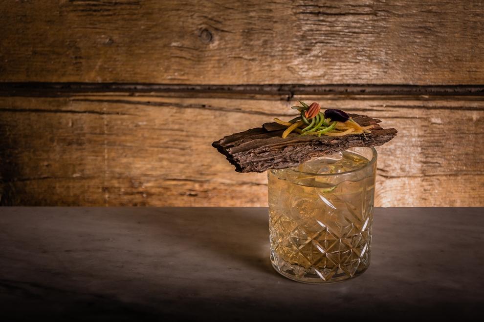 cocktail con affumicatura