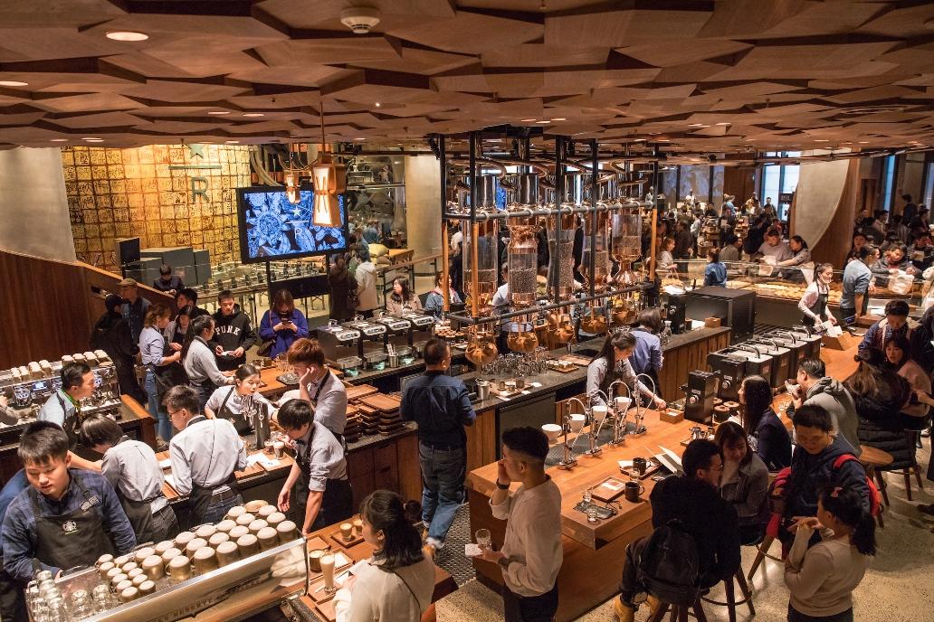 caffetteria più grande del mondo