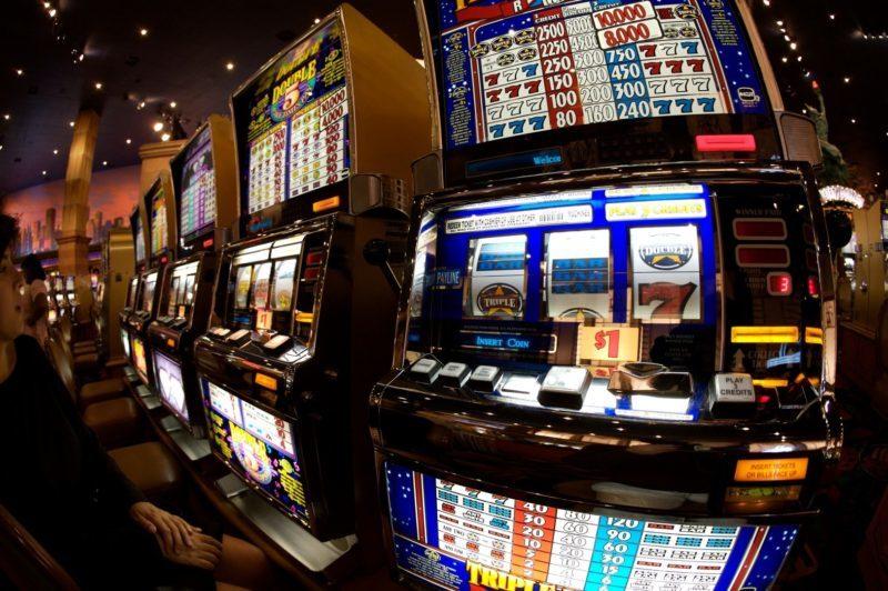bar e slot machine