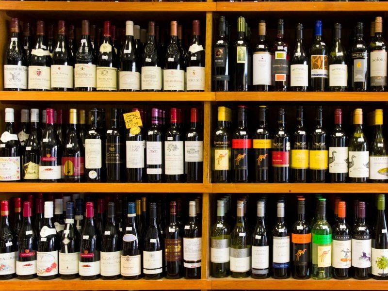 valori nutrizionali del vino