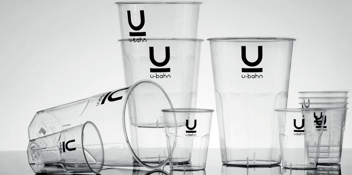 Bicchieri in plastica