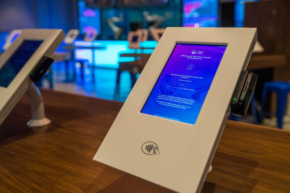 tecnologia al bar